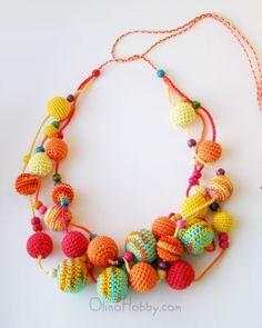 OlinoHobby - Handgenähte zateyki: Häkeln Perlen und Schmuck