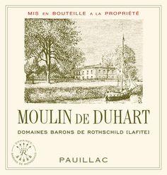 2007 Moulin de Duhart   Domaines Barons de Rothschild (Lafite) Bordeaux Estates Château Duhart-Milon
