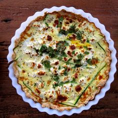 this corguette, goats cheese quiche/tart dish could be made more Slimming World friendly
