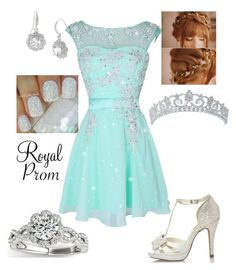 """Royal Prom #14"" by briony-jae ❤ liked on Polyvore"