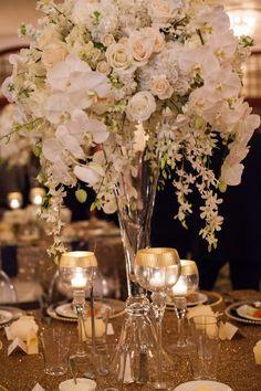 Featured Photographer: Koby Brown Photography; wedding centerpiece idea