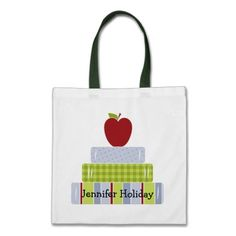 Stacked Books Teachers Tote Bag By Justforteachers