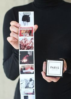 Crafting with Canon :: Tiny Travel Album in a Box