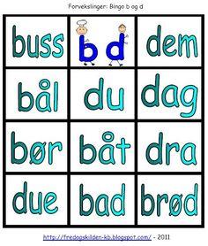 Bingo, Grammar, Nye, Language, Education, Tips, Montessori, Teaching Ideas, Barn