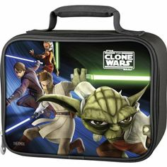 Amazon.com: Star Wars Clone Wars Insulated Lunch Tote: Kitchen & Dining