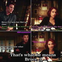 Ah yes. Steve/Natasha.
