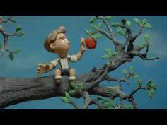 La manzana - stop motion - plastilina - Aluminé 2012 - YouTube