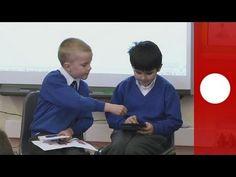 """""""Aprender jugando"""". Interesante reportaje de Euronews sobre la adaptación de los videojuegos en las aulas."""