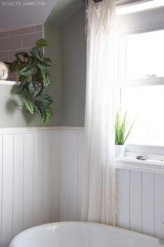 Meine Badezimmer-Deko und gute Gedanken hinter Glas