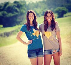 The girls from Texas are just a little bit better & so are the tees from Barefoot (;