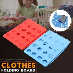 Clothes T-Shirt Folder Adult Magic Folding Board Flip Fold Laundry Organizer USA Diy Home Cleaning, Cleaning Hacks, House Cleaning Tips, Clothes Folding Board, Shirt Folding Board, Do It Yourself Decoration, Home Crafts, Diy Crafts, Home Gadgets