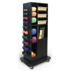 $632.07 The Hausmann 5592 Weight Rack is ideal for use in physical therapy and rehabilitation clinics where mobility and high capacity storage are needed.