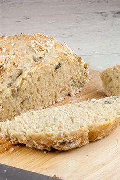 Brood zonder kneden