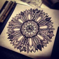This is incredible. Mandala