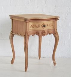 Large French Style Bedside / Large French Bedside 1 Drawer / Dutch Connection