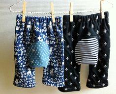 Monkey Pants Pattern