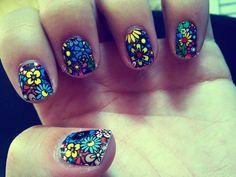 My summer 09 #nails
