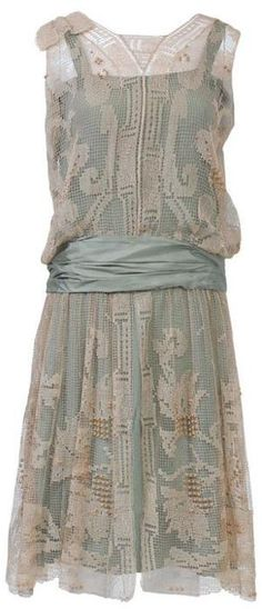 Flapper Dress, 1920s.