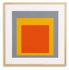 Albers Study for Homage To The Square, 1955 #roomandboard