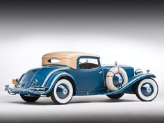 Duesenburg  1:16 1929 Blue Cord L-29 Special Coupe New Never Displayed