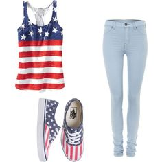 American girl wouldn't wear them together but super cute