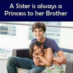 Tag-mention-share with your Brother and Sister Brother Sister Love Quotes, Brother And Sister Relationship, Sister Quotes Funny, Bff Quotes, Attitude Quotes, Funny Quotes, Sibling Quotes, Siblings Funny, Girl Humor