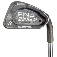 Ping Golf Clubs Zing 2 3-Pw Iron Set Stiff Steel JZ Orange Dot Right-Hand Value