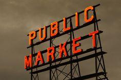 Fish Market, Seattle, WA by Mukul Seth, via 500px