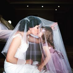 Beautiful moment between bride and her daughter at Lake Umuzi Secunda South Africa South African Weddings, Wedding Venues, Wedding Bride, Beautiful Moments, Portrait Photographers, Getting Married, Real Weddings, Tulle, Daughter