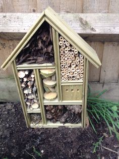 Homemade Bug Hotel.