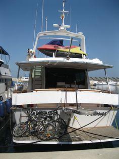 Bikes and Jetski on Boat by HMS Henning, via Flickr. Puerto de Mazarrón, Spain