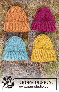Knitting Paterns, Free Knitting, Knitting Projects, Crochet Patterns, Drops Design, Hand Knitted Sweaters, Knitted Hats, Crochet Crafts, Knit Crochet