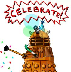 happy new year eleventh doctor doctor who dalek doctor humor tardis