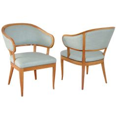 Pair of chairs by Carl Malmsten