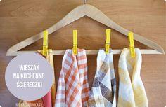 kitchen towels organization