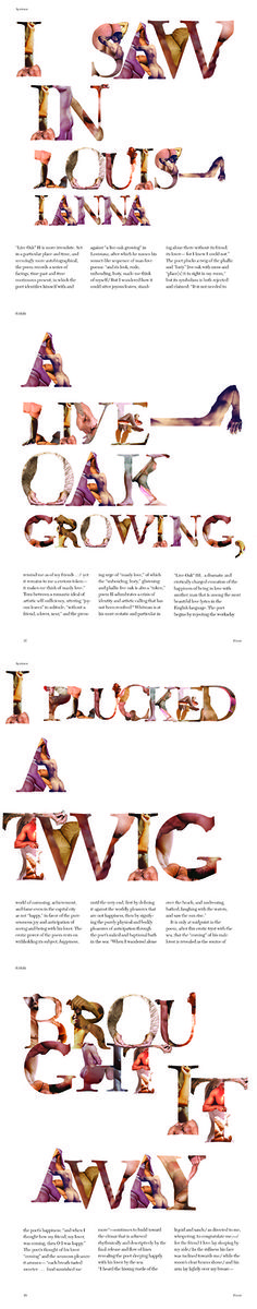 Graphic Designer Erik Freer Sings The Body Electric In An Alphabet Of Naked…
