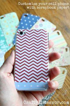 DIY Custom Cell Phone Cases