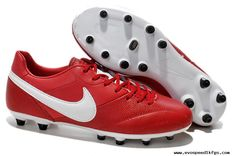 Buy Red/White Nike The Premier FG Boots