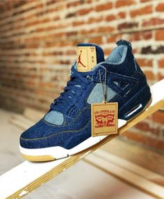 new arrival a9923 f68fa Levi s x Air Jordan 4 releases tomorrow. Early candidate for sneaker of the  year