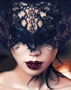 Sophisticated masquerade (for Lolly's Christmas Party)