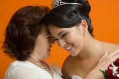 Fotos previas de boda de Melina con su mamá. #FotografosDeBodasEnCali
