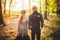 Dinner at Dracula's - Halloween Wedding - Halloween Inspiration - Alternative Wedding - Photo by Rob + Kristen Photography