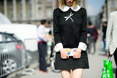 On the Streets of Paris Fashion Week Spring 2015 - Paris Fashion Week Spring 2015 Day 8