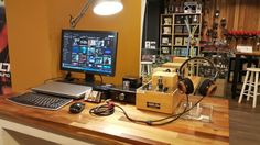 Just another day with wicked audio equipment display at my shop :-)