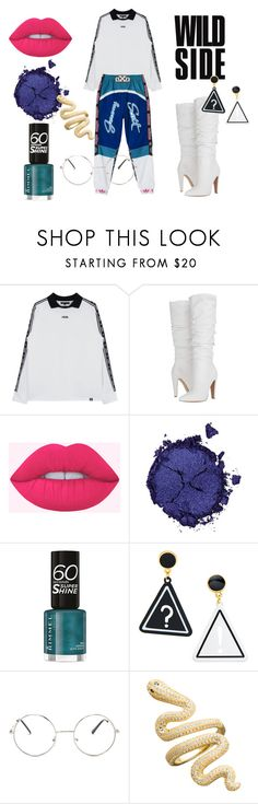 """""""SportLook WOMEN"""" by scheyllys ❤ liked on Polyvore featuring Steve Madden, Pat McGrath, Rimmel, Nasty Gal, adidas and sport"""