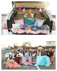 Tween Drive In Movie Party Ideas via Pretty My Party