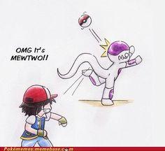 Pokemon meets DBZ haha!