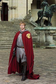 "Merlin S5 Bradley James as ""Arthur"""