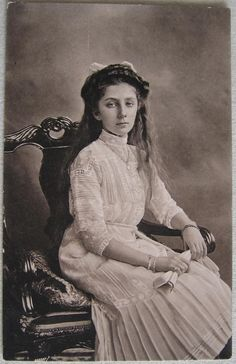 Old Postcard Princess Nadezhda Bulgaria as Young Girl | eBay