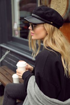 Fashion Week, Look Fashion, 90s Fashion, Winter Fashion, Fashion Outfits, Womens Fashion, Outfits With Hats, Casual Fall Outfits, Chic Outfits